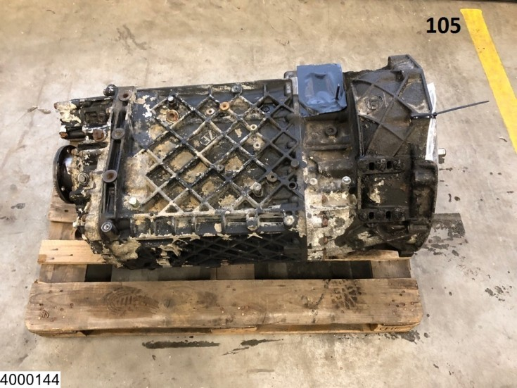 ZF ECOSPLIT, 16 S 181, Manual