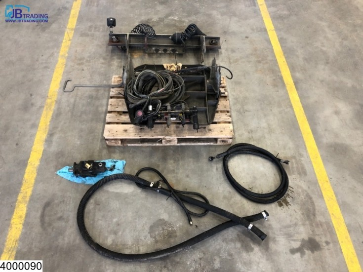 Lohr 5th wheel, Hydraulic pump, Hoses for car transporter
